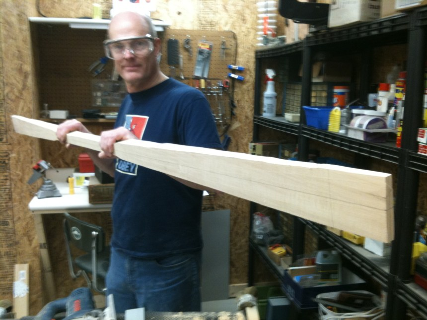 I display the outline shape after jig sawing.