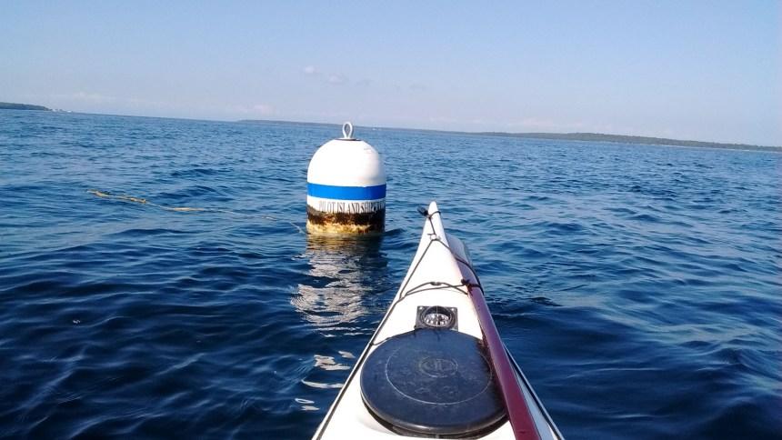 Pilot Island shipwrecks buoy
