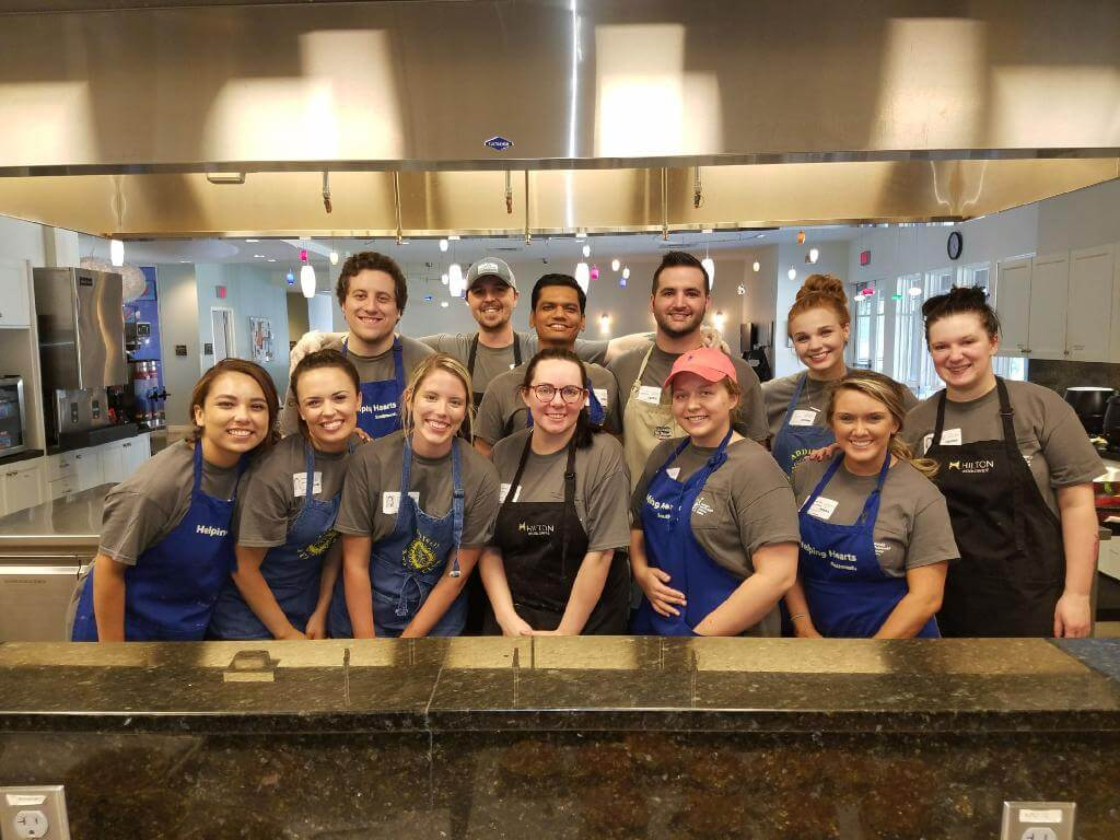 LiquidAgents Healthcare serves dinner to Ronald McDonald House Dallas