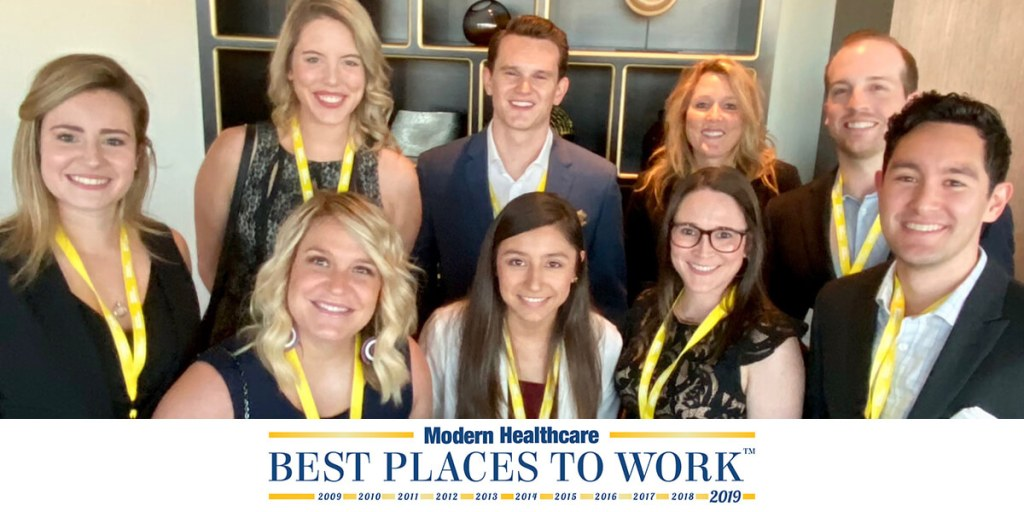 LiquidAgents Earns Modern Healthcare's Millennials Award at the 2019 Best Places to Work in Healthcare Gala