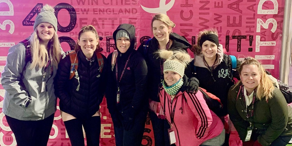"LiquidAgents' ""Just Beat It Crew"" Joined the Susan G. Komen 3-Day Walk to Support the Fight Against Breast Cancer"
