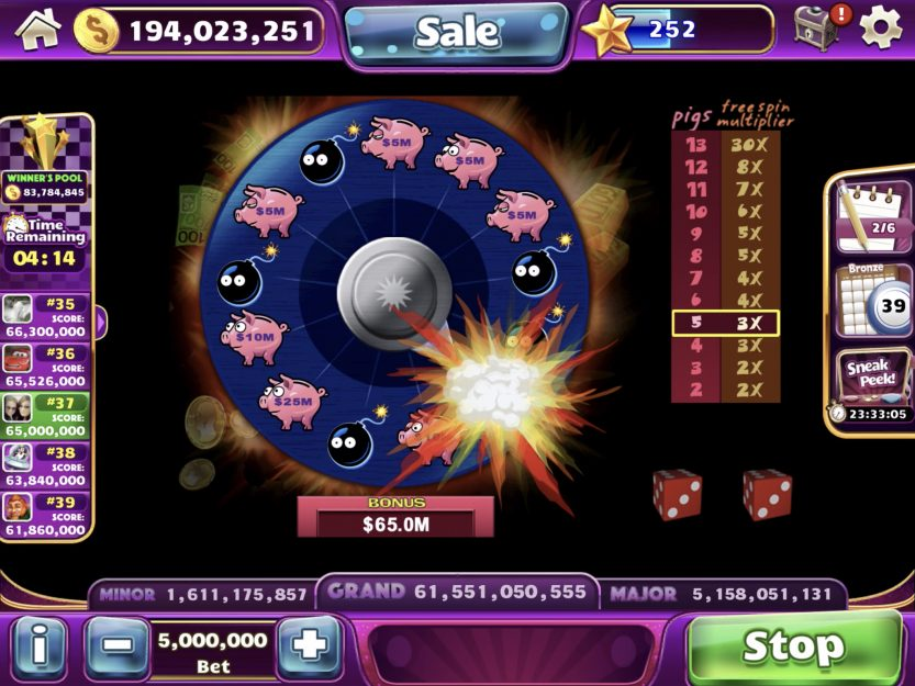 Slot Design Report: August 2019