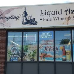 Liquid Assets Outdoor Sign