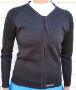 women's 1.5mm wetsuit jacket