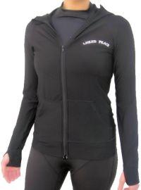 Women's Thermal, Long Sleeve, Rash Guard Hoodie