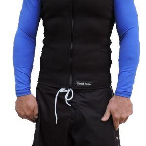 Men's 2.5mm Wetsuit Vest, Full Front Zipper