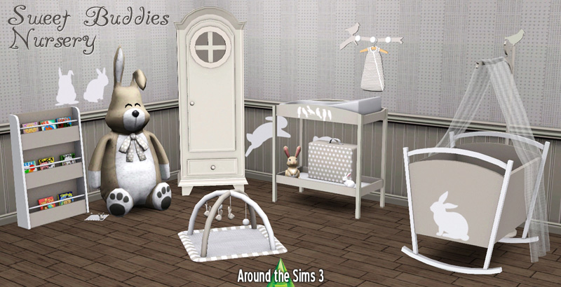Sweet Buddies Nursery By Sandy Liquid Sims