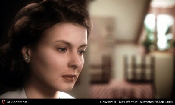 Ingrid Bergman by Max Wahyudi