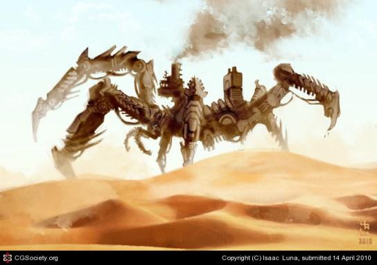 Nomad of the Desert, Isaac Luna (2D)