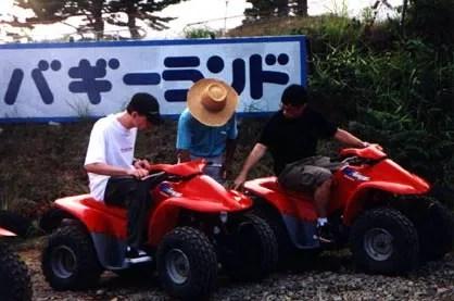 Ajax and MCB prepare for a little four-wheelin' in Madarao.