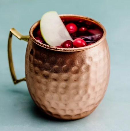 Apple-Cranberry Moscow Mule