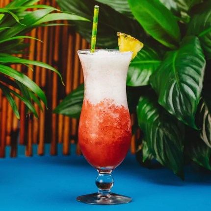 Miami Vice cocktail