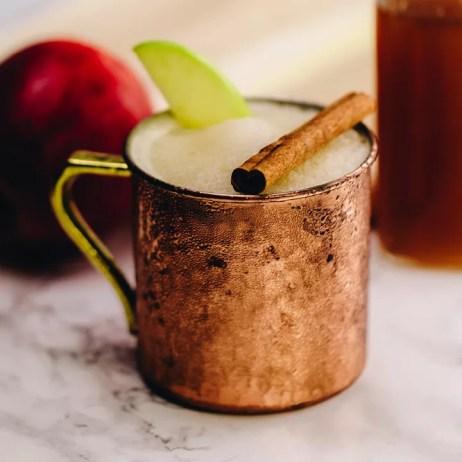 Bourbon Cider Slushie