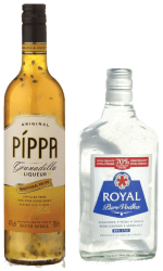 pippa granadilla liqueur Royal Vodka