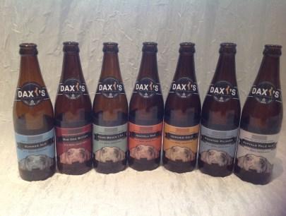 Daxi's beer range