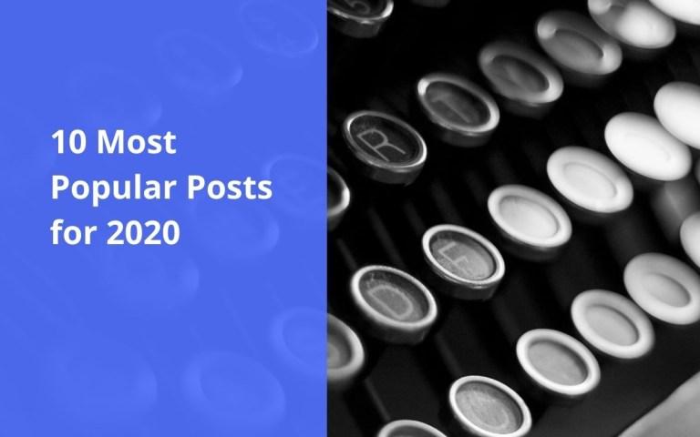 10 most popular posts of 2020