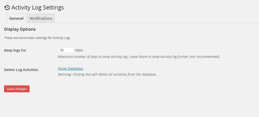 ARYO Login settings screenshot