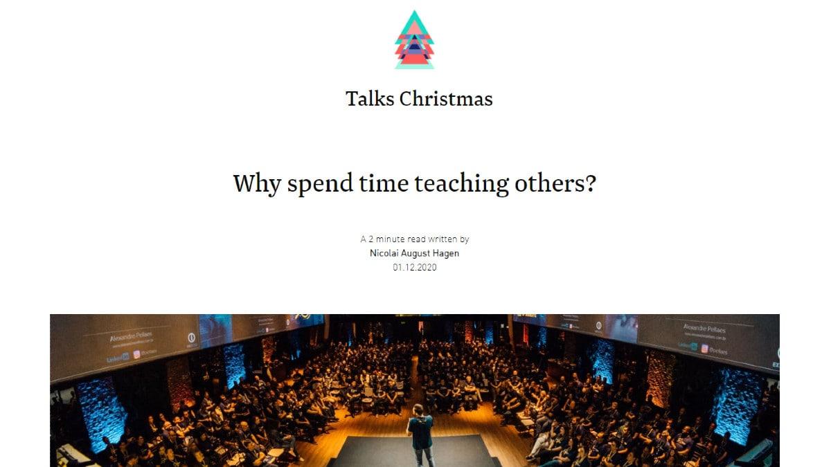 Bekk's Talk Christmas Calendar 2020