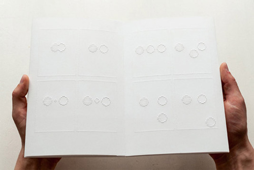 Braille comic book