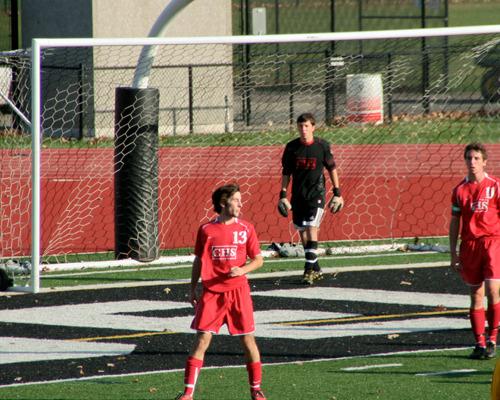 fullbacks defending the goal