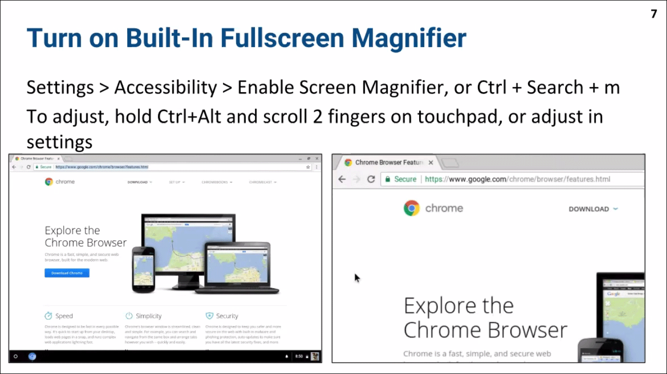 10 Things to Know About Chromebook Accessibility