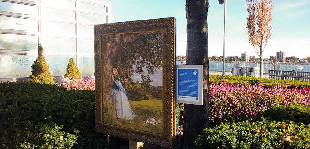Art along the Detroit Riverwalk