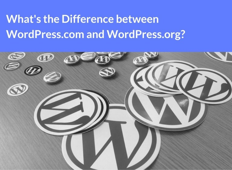 difference between wordpress.com and wordpress.org.