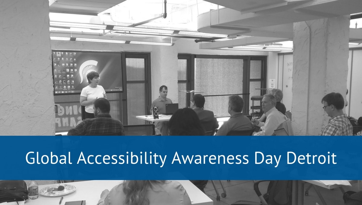 Global Accessibility Awareness Day Detroit