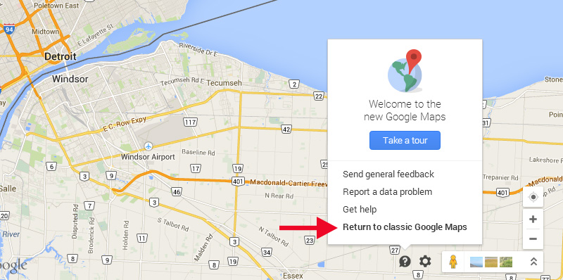 Not Liking New Google Maps? Switch to Classic Mode