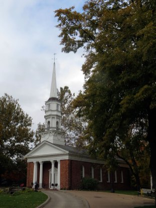 Martha Mary Chapel in Greenfield Village