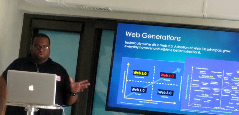 Hasani discussing the future of WordPress