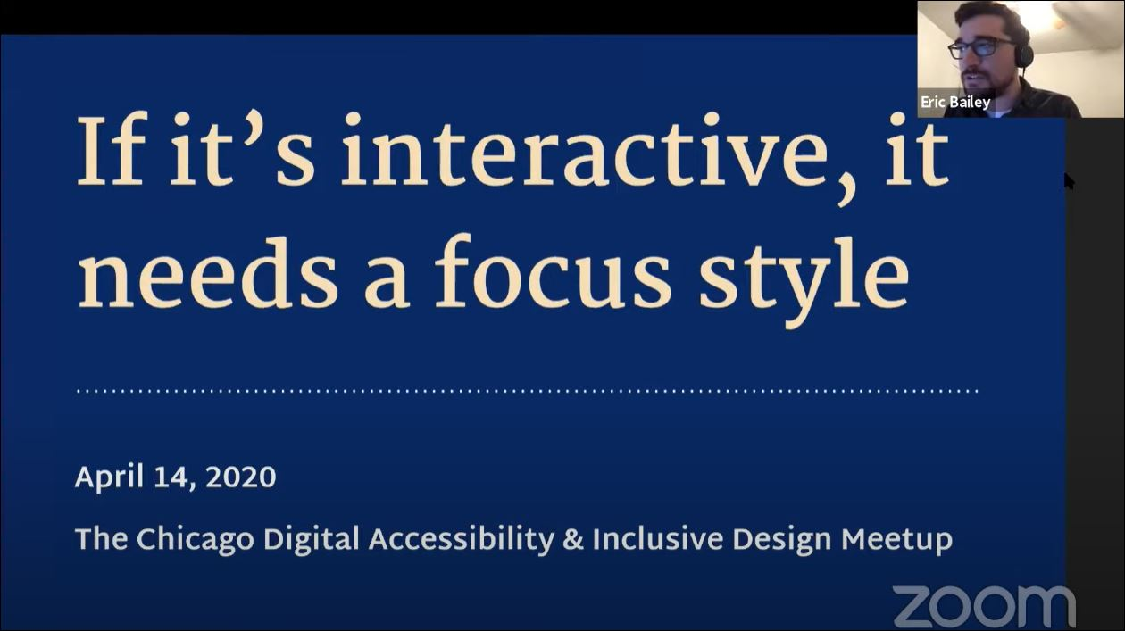 If it's Interactive, It Needs a Focus Style