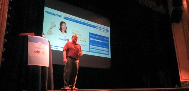 Jared Spool talking about Progressive's online insurance application