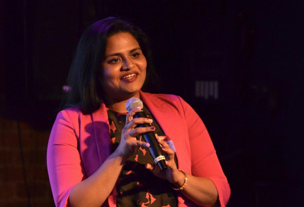 Kavitha Krishnan speaking on style guides