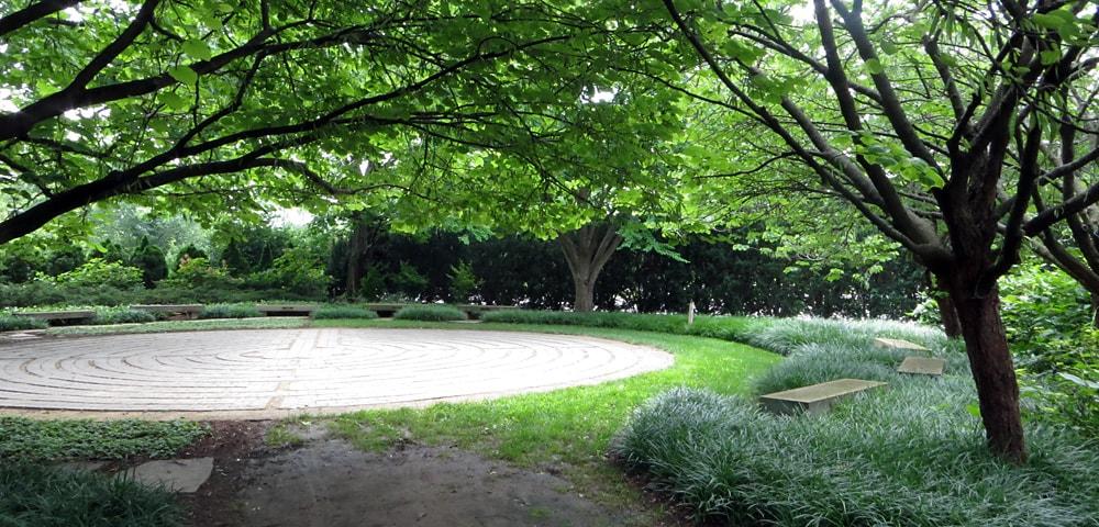 Lois B. Small and Gladys B. Hamilton Labyrinth Garden