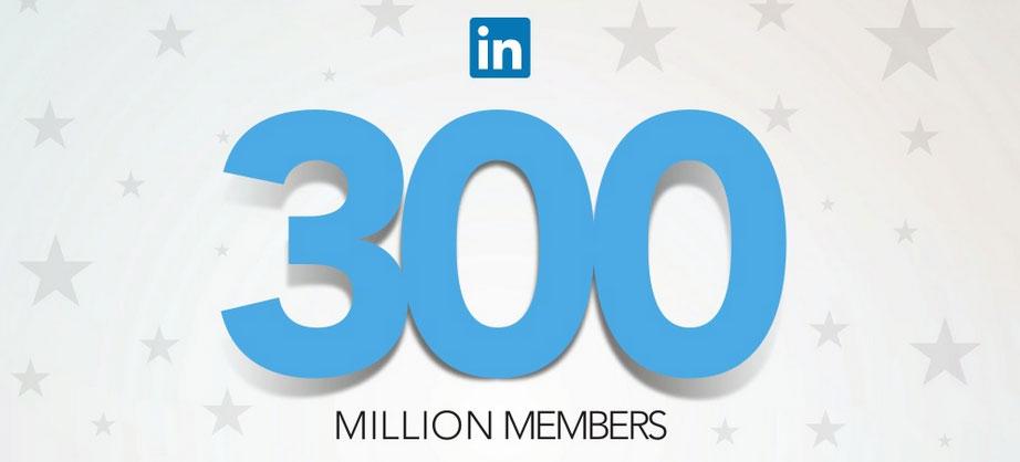 LinkedIn 300 million members