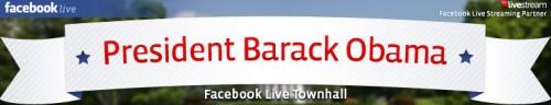President Barack Obama Facebook Town Hall logo