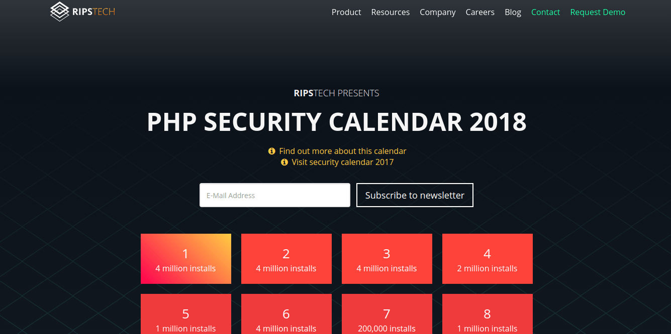 PHP Security Advent Calendar
