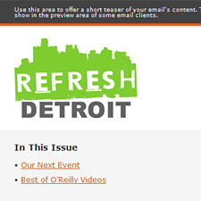 Refresh Detroit Newsletter