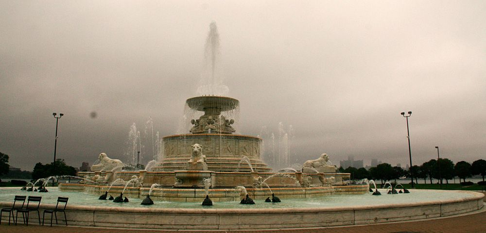 Scott Fountain on Belle Isle