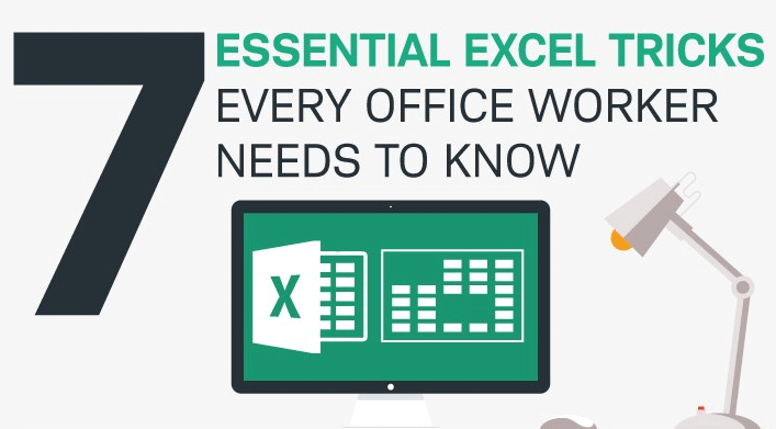 7 essential Excel tricks every office worker needs to know