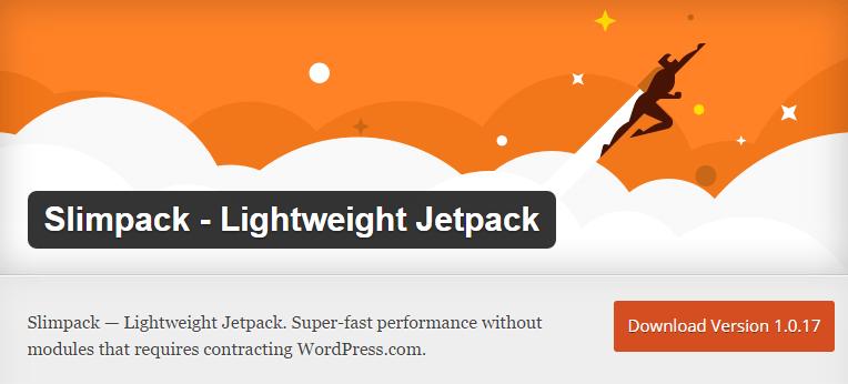 Slimpack - Lightweight Jetpack plugin