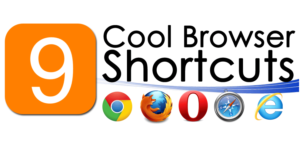 9 cool browser shortcuts