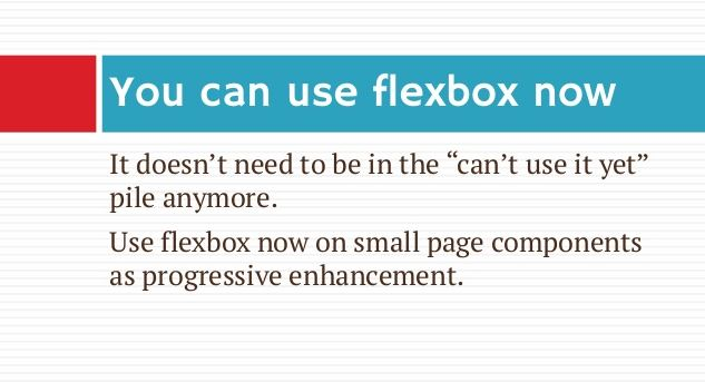 You can use flexbox now.