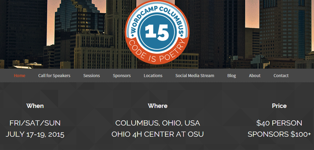 WordCamp Columbus 2015