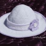 free crochet sun hat pattern for kids