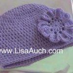 Easy Free Basic Beanie Hat Crochet pattern