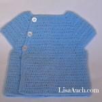 FREE Crochet Cardigan Pattern (3-6 months)