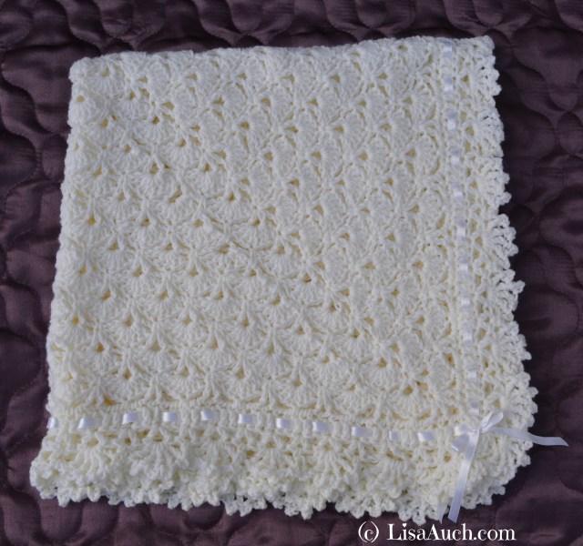 crochet baby blanket pattern, crochet baby shawl, free crochet patterns