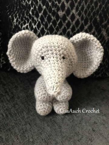 Ellie the Elephant Lovey- Free Pattern - A Purpose and A Stitch | 480x360